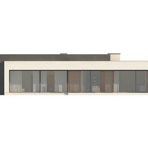 Фасад дома Zx72 3