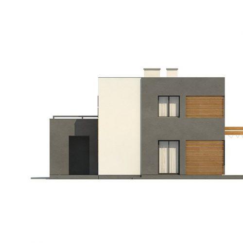 Фасад дома Zx73 4