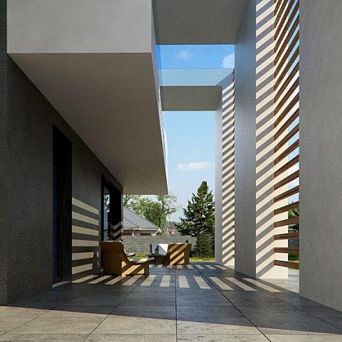 Фото проекта дома Zx75 вид 2