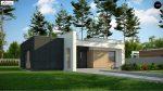 Фото проекта дома Zx77 A вид с улицы