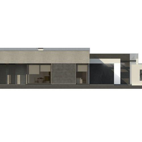 Фасад дома Zx79 4