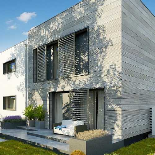 Фото проекта дома Zx91 вид 2