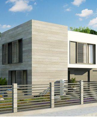 Фото проекта дома Zx91 вид с улицы