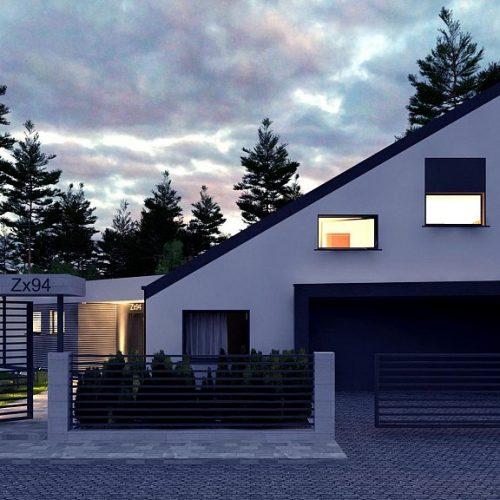 Фото проекта дома Zx94 вид 2