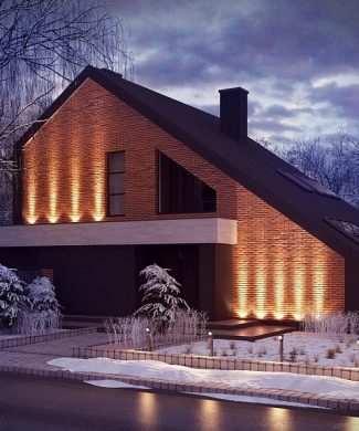 Фото проекта дома Zx95 вид с улицы