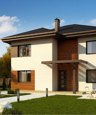 Фото проекта дома Zz1 вид с улицы
