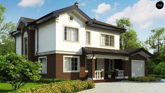 Фото проекта дома Zz2 S вид с улицы