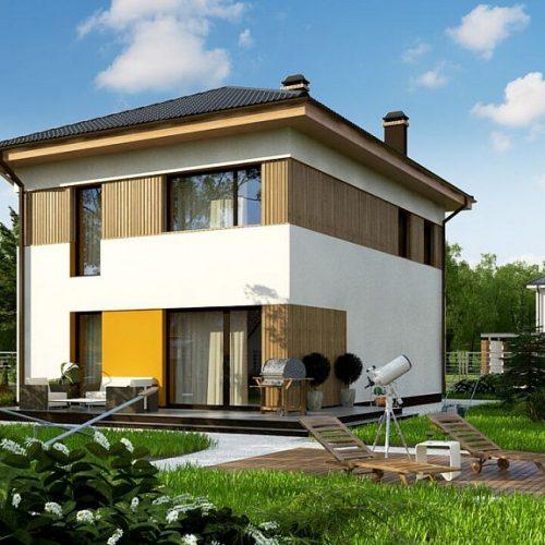 Фото проекта дома Zz3 вид 2
