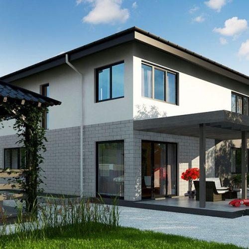 Фото проекта дома Zz5 вид 2