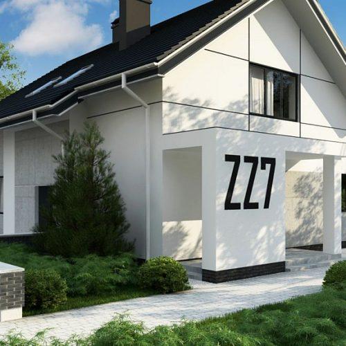 Фото проекта дома Zz7 вид 2